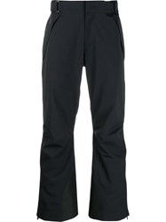 Moncler Grenoble Loose Fit Trousers Blue