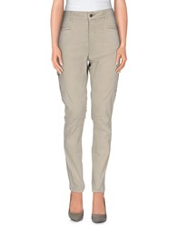 Good Mood Trousers Casual Trousers Women Light Green
