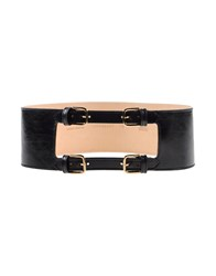 Mauro Grifoni Small Leather Goods Belts Women Black