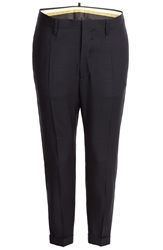 Dsquared Wool Silk Blend Trousers