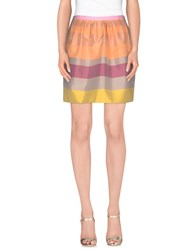 Toy G. Skirts Knee Length Skirts Women Apricot