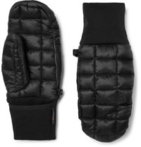 The North Face Thermoball Ripstop And Primaloft Mittens Black