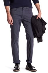 Kenneth Cole Straight Leg Pinstripe Pant Blue