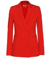 Emilio Pucci Double Breasted Jacket Red