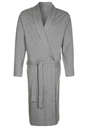 Calida Remix Basic Dressing Gown Silver Cloud Mel Grey