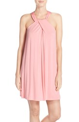 Women's Midnight By Carole Hochman Twist Neck Jersey Chemise