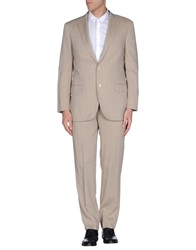 Belvest Suits Beige