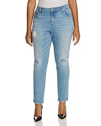 Lucky Brand Plus Ginger Distressed Skinny Jeans In Ideal
