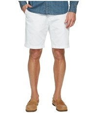 Nautica Anchor Twill Flat Front Shorts Bright White Men's Shorts