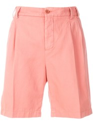 Aspesi Bermuda Shorts Pink And Purple