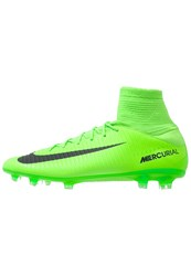 Nike Performance Mercurial Veloce Iii Df Fg Football Boots Electric Green Black Flash Lime White