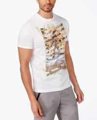 Sean John Men's Big And Tall Graphic T Shirt Bright White