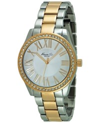 Kenneth Cole New York Women's Two Tone Stainless Steel Bracelet Watch 38Mm 10029551
