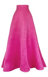 Esme Vie Shent Floor Length Skirt Pink