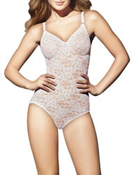 Bali Lace N Smooth Bodybriefer White