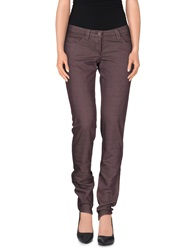 Exte Casual Pants Purple