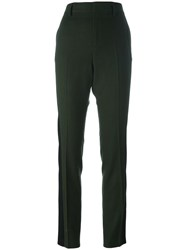 Haider Ackermann Colour Block High Waisted Trousers Green