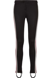 Gucci Striped Tech Jersey Leggings Black