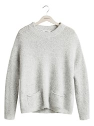 Sandwich Cosy Oversized Jumper Grey
