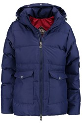 Pyrenex Quilted Shell Down Coat Blue