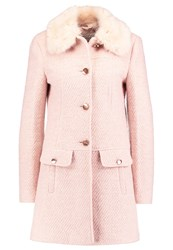 Miss Selfridge Dolly Short Coat Pink Rose