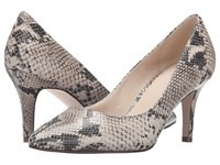 Cole Haan Juliana Pump 75Mm Roccia Snake Print High Heels Animal Print