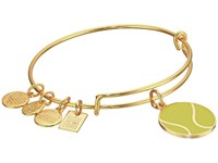 Alex And Ani Team Usa Tennis Bangle Yellow Gold Bracelet