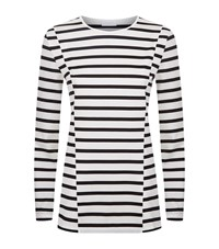 Escada Sport Striped T Shirt Female White