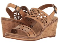 Easy Spirit Kristina Natural Leather Women's Shoes Brown