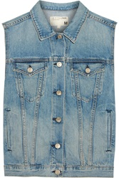 Rag And Bone Burney Denim Vest