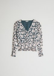 Farrow Lydia Floral Top In Floral Blush Size Extra Small