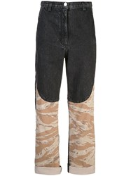 Rachel Comey Combined Print Trousers Grey