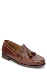 G.H. Bass And Co. Wallace Tassel Loafer Dark Brown Leather