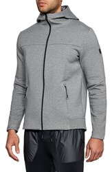 Under Armour Sportstyle Elite Zip Hoodie Steel Full Heather Black
