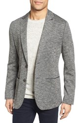 Ted Baker Men's London Italy Modern Slim Fit Textured Jersey Blazer