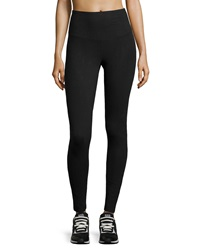 Yummie Tummie Milan Wide Band Leggings Black