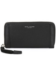 Marc Jacobs 'Maverick' Continental Wallet Black