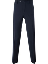Pt01 'Traveller' Tailored Trousers Blue