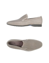 Aldo Brue Moccasins Light Grey