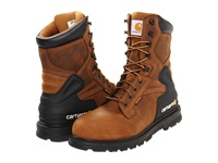 Carhartt Cmw8200 8 Safety Toe Boot Bison Brown Men's Work Lace Up Boots