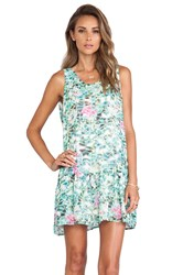 Lovers Friends Barbados Babydoll Dress Mint
