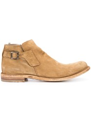 Officine Creative Ideal Boots Men Calf Leather 44 Nude Neutrals