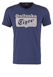 Onitsuka Tiger By Asics Onitsuka Tiger Print Tshirt Navy Dark Blue