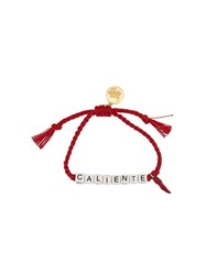 Venessa Arizaga 'Caliente' Bracelet Red