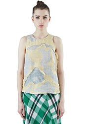 The Autonomous Collections Patchwork Tank Top Yellow