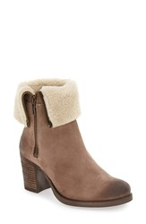 Bos. And Co. Women's 'Beverlee' Waterproof Mid Calf Boot Taupe Oil Suede
