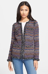Rachel Zoe 'Henri' Tweed Jacket Multi