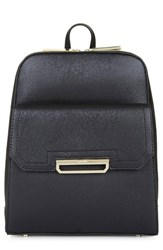 Topshop 'Boris' Structured Faux Leather Backpack