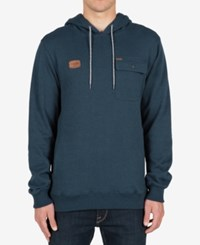 Volcom Men's Elba Hoodie Blue Air