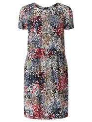 John Lewis Collection Weekend By Confetti Print Dress Black Multi